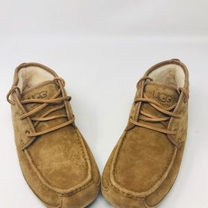 Ugg Men Shoe With Lace And 100% Wool